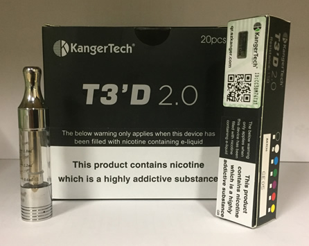 Wholesale Kangertech T3D 2.0 Clearomiser