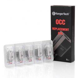 Pack Of 5 Kanger Subtank OCC Atomiser Coils