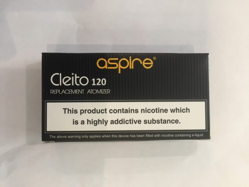 Aspire Cleito 120 Coils Tpd Packaging
