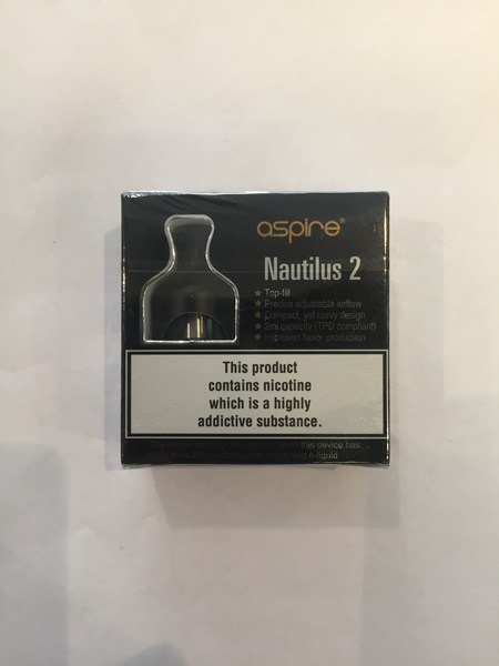 Nautilus 2 Tank Tpd Packaging