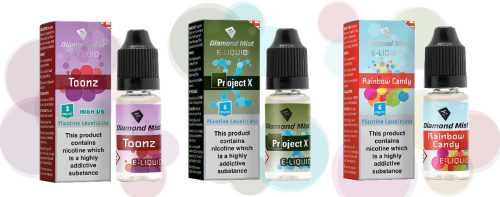 Diamond Mist E-Liquid 10ml TPD Ready-0