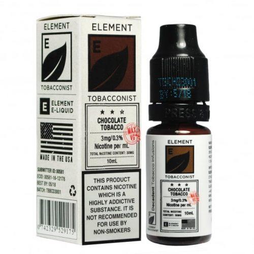 Premium Element E-Liquid - Tobacconist Dripper Range-0