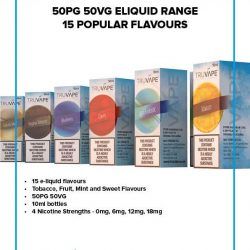 Wholesale Truvape Eliquids UK