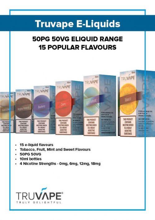 Wholesale Truvape Eliquids UK
