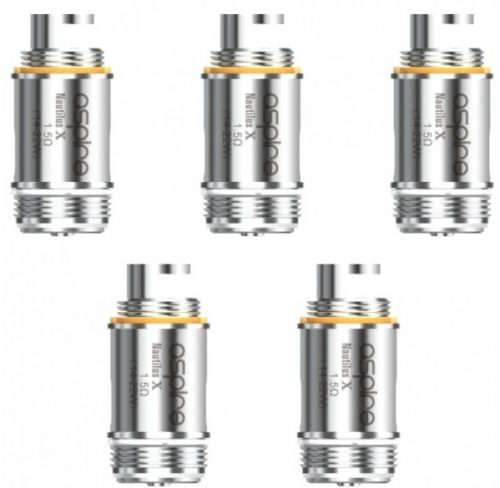 5 x Aspire Nautilus X Replacement Coils (Pack)-0