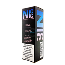Dinner Lady Nic Nic 18mg 100VG Nicotine Shot-0