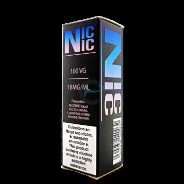 Dinner Lady Nic Nic 18mg 100VG Nicotine Shot-0